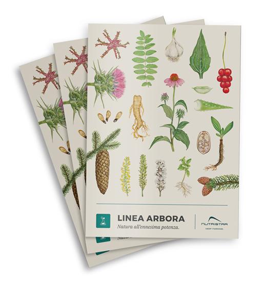 Copertina del catalogo ARBORA